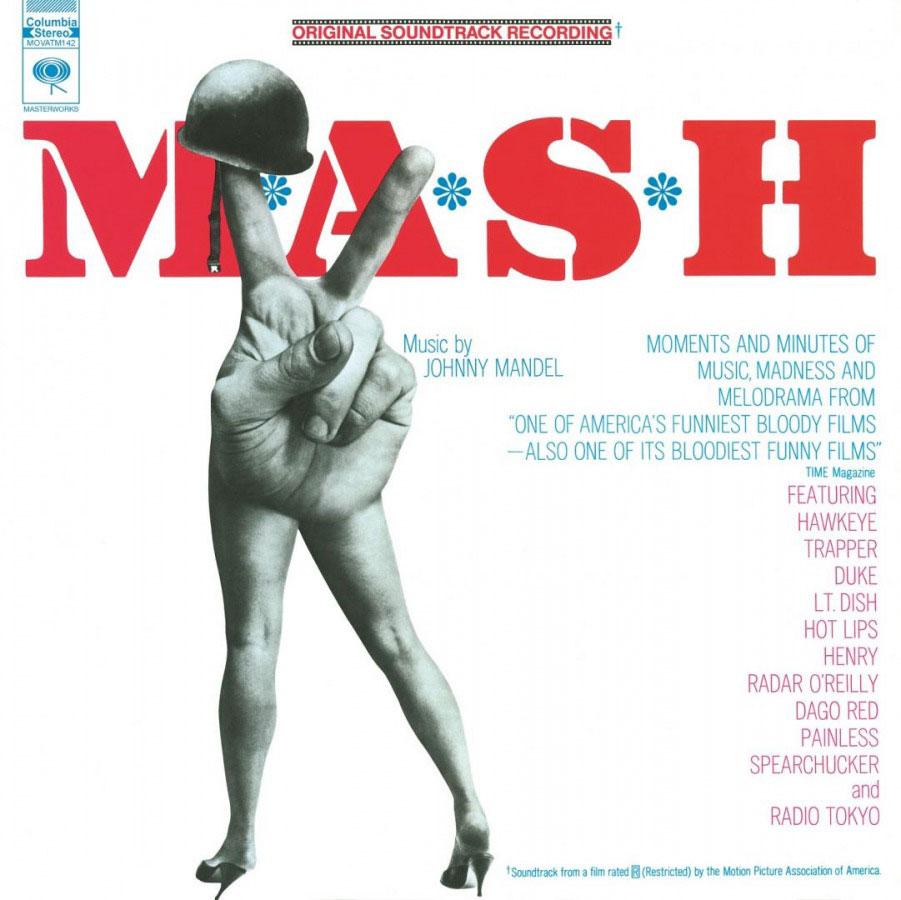 4 드라마와 영화로 제작되어 큰 히트를 기록해던 M.A.S.H 의 영화 사운드트랙. 조니 맨델의 아름다운 작품들로 가득차 있다.jpg